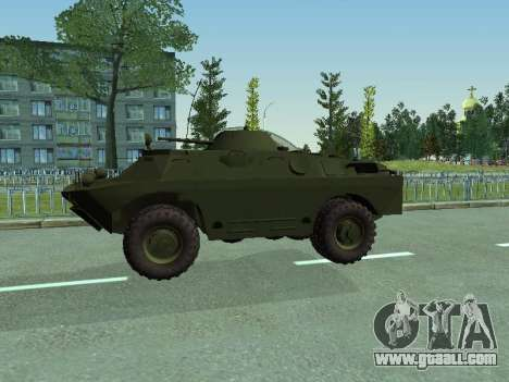 BRDM 2 for GTA San Andreas inner view
