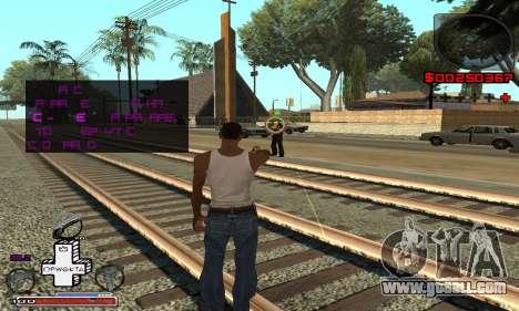 P-HUD OFWGKTA for GTA San Andreas third screenshot