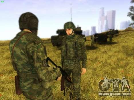 Tankman for GTA San Andreas second screenshot