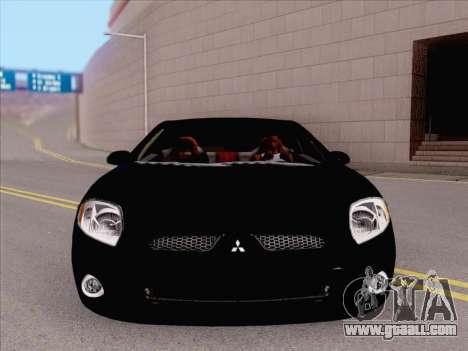 Mitsubishi Eclipse v4 for GTA San Andreas left view