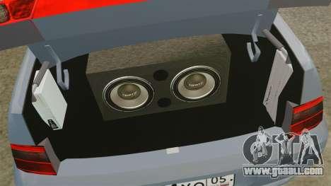 Vaz-2110 for GTA 4 inner view