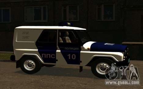 UAZ Hunter PPP for GTA San Andreas right view