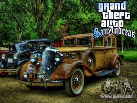 New loadscreen Old Cars for GTA San Andreas ninth screenshot