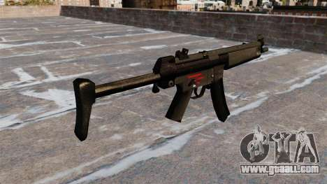 Submachine gun HK MR5A3 for GTA 4 second screenshot
