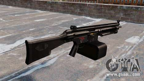 General-purpose machine gun Heckler and Koch HK2 for GTA 4 second screenshot