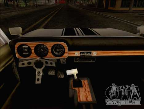 Ford Falcon for GTA San Andreas back left view