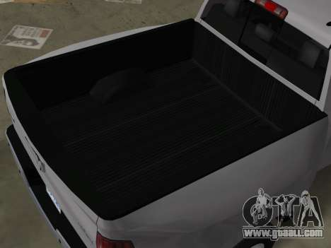 Dodge Ram 3500 Laramie 2012 for GTA Vice City inner view