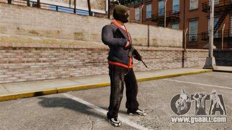 Franklin Clinton v2 for GTA 4 second screenshot