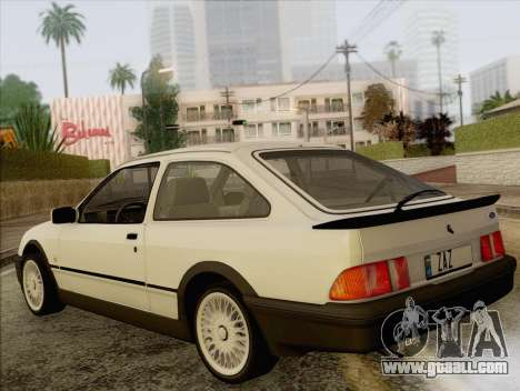 Ford Sierra Mk1 Coupe GHIA for GTA San Andreas left view