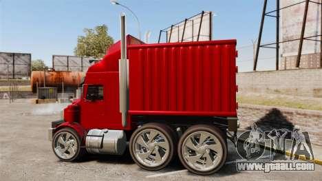 Mini truck for GTA 4 left view