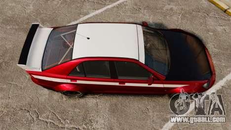 Sultan RS Sedan for GTA 4 right view