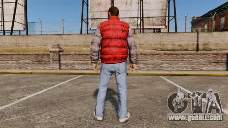 Clothes-back to the future- for GTA 4 second screenshot