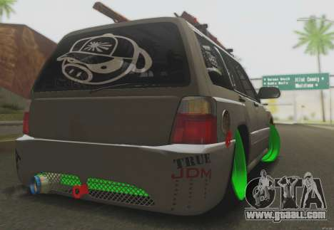 Subaru Forester JDM for GTA San Andreas right view