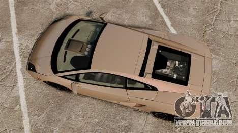 Lamborghini Gallardo 2013 v2.0 for GTA 4 right view