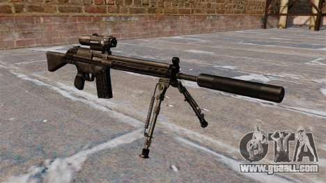 HK G3 automatic rifle for GTA 4