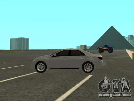 Toyota Mark X for GTA San Andreas left view
