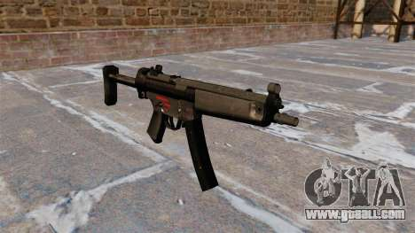 Submachine gun HK MR5A3 for GTA 4