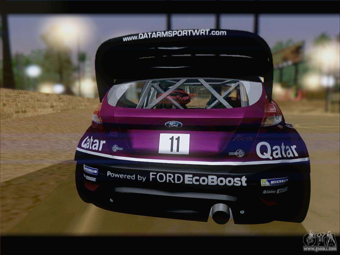 ford fiesta rs wrc 2013 for gta san andreas. Black Bedroom Furniture Sets. Home Design Ideas
