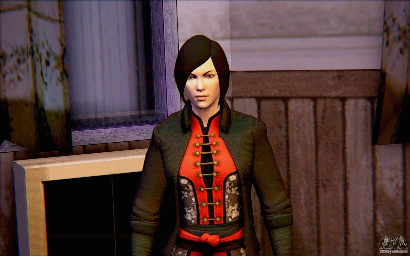Lady Shiva In The Game Batman Arkham Origins For GTA San