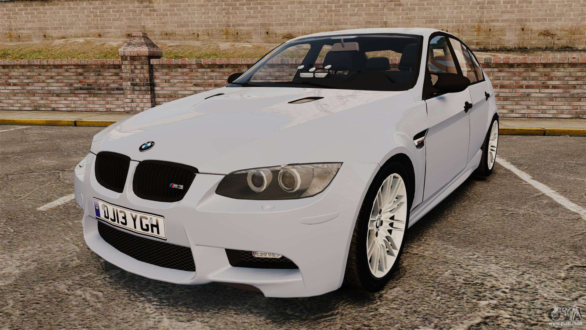 Bmw M3 Unmarked Police Els For Gta 4