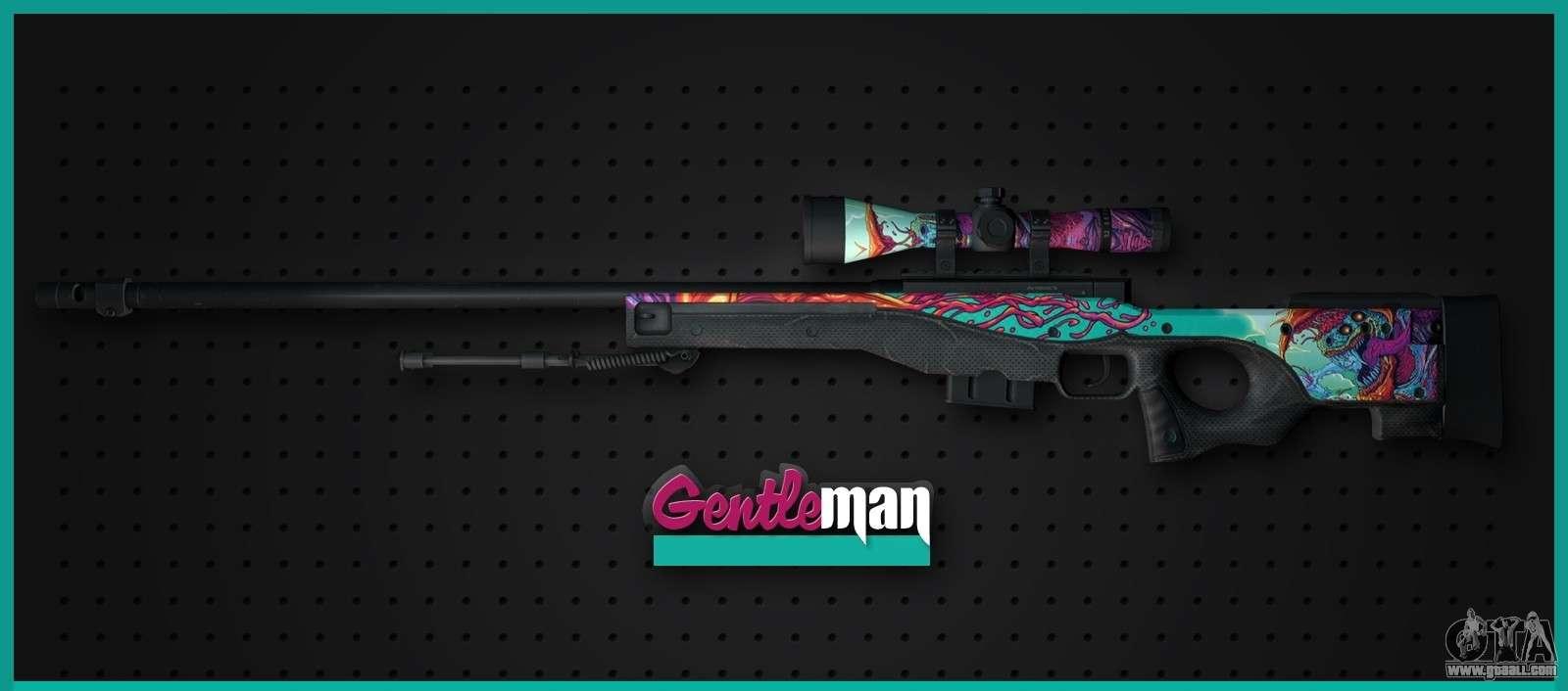 Hd wallpaper eagle - Awp From Cs Go Gentleman For Gta San Andreas