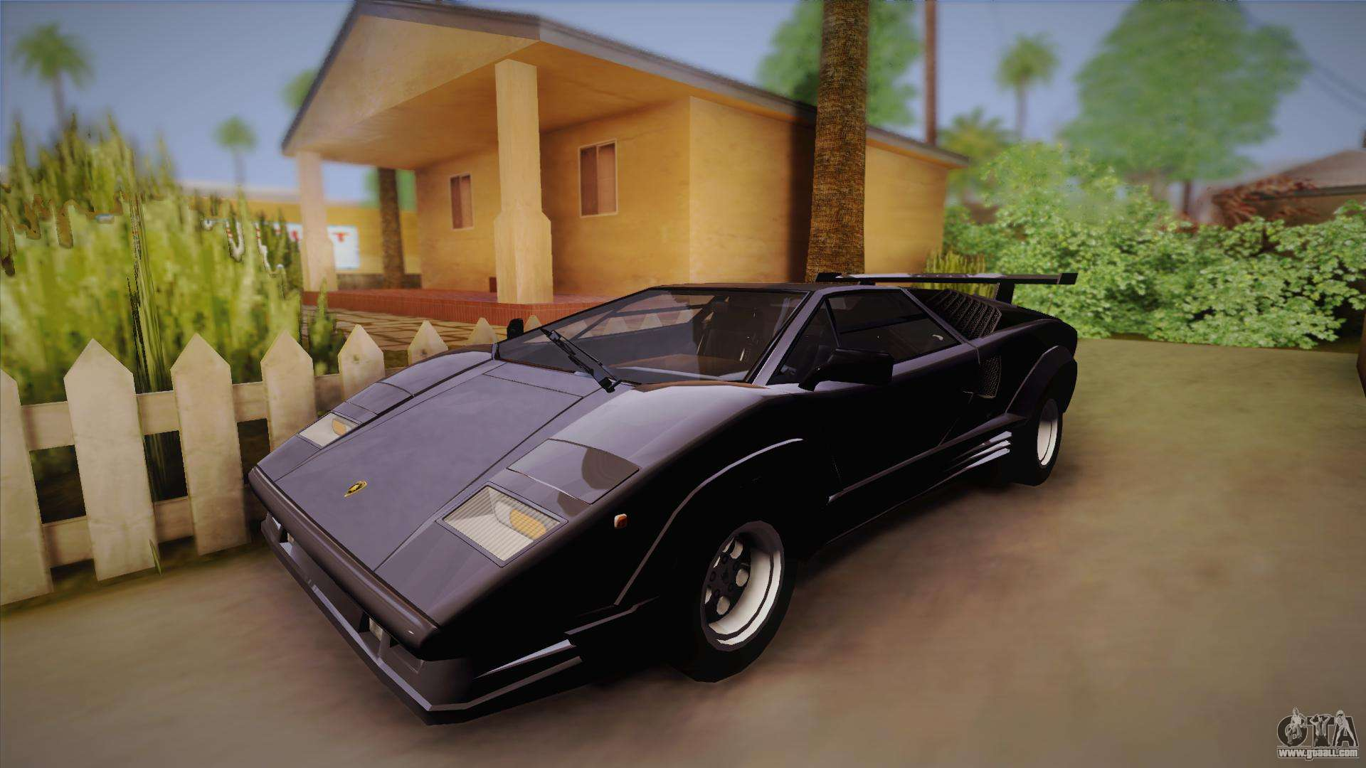 lamborghini countach 25th anniversary for gta san andreas. Black Bedroom Furniture Sets. Home Design Ideas