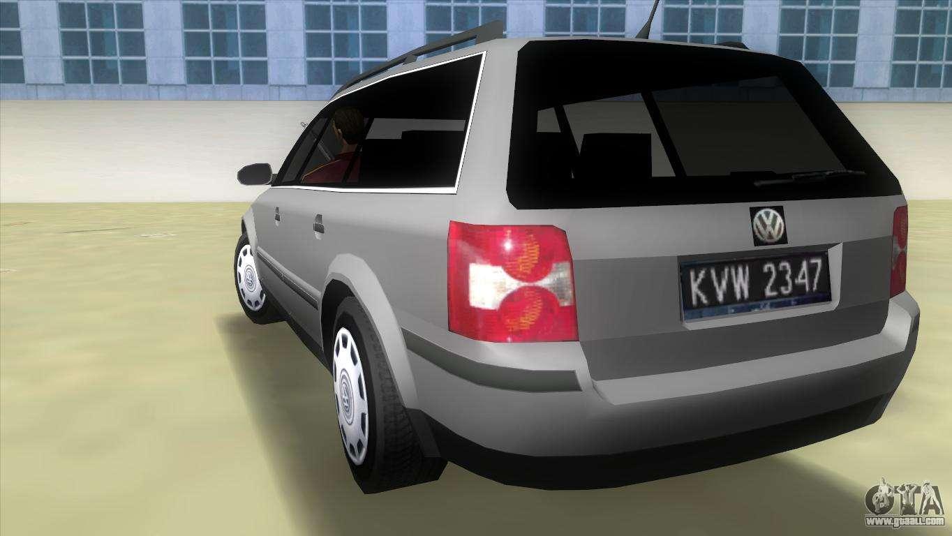 Volkswagen passat b5 variant 1 9 tdi for gta vice city