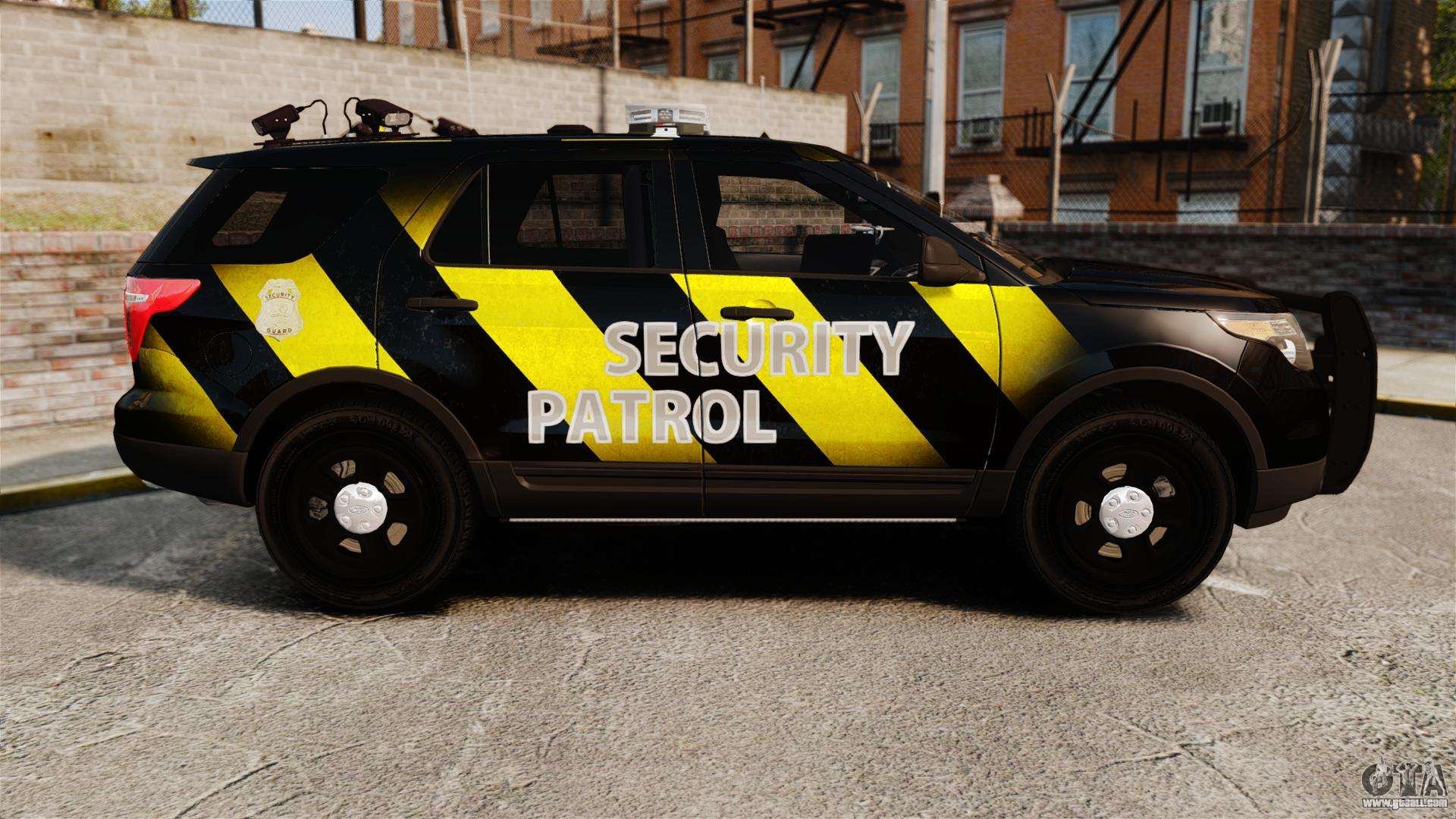 Ford Explorer 2013 Security Patrol [ELS]