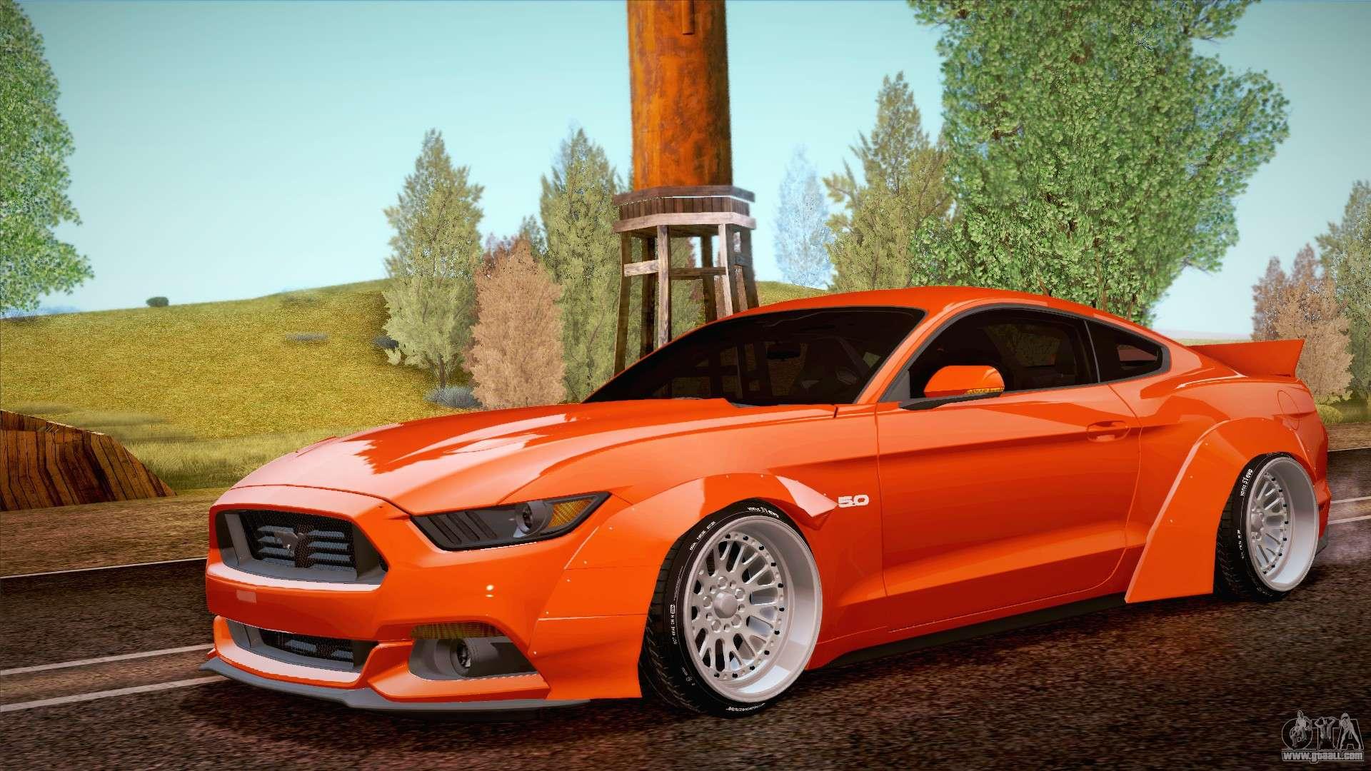 Ford Mustang Rocket Bunny 2015 For Gta San Andreas