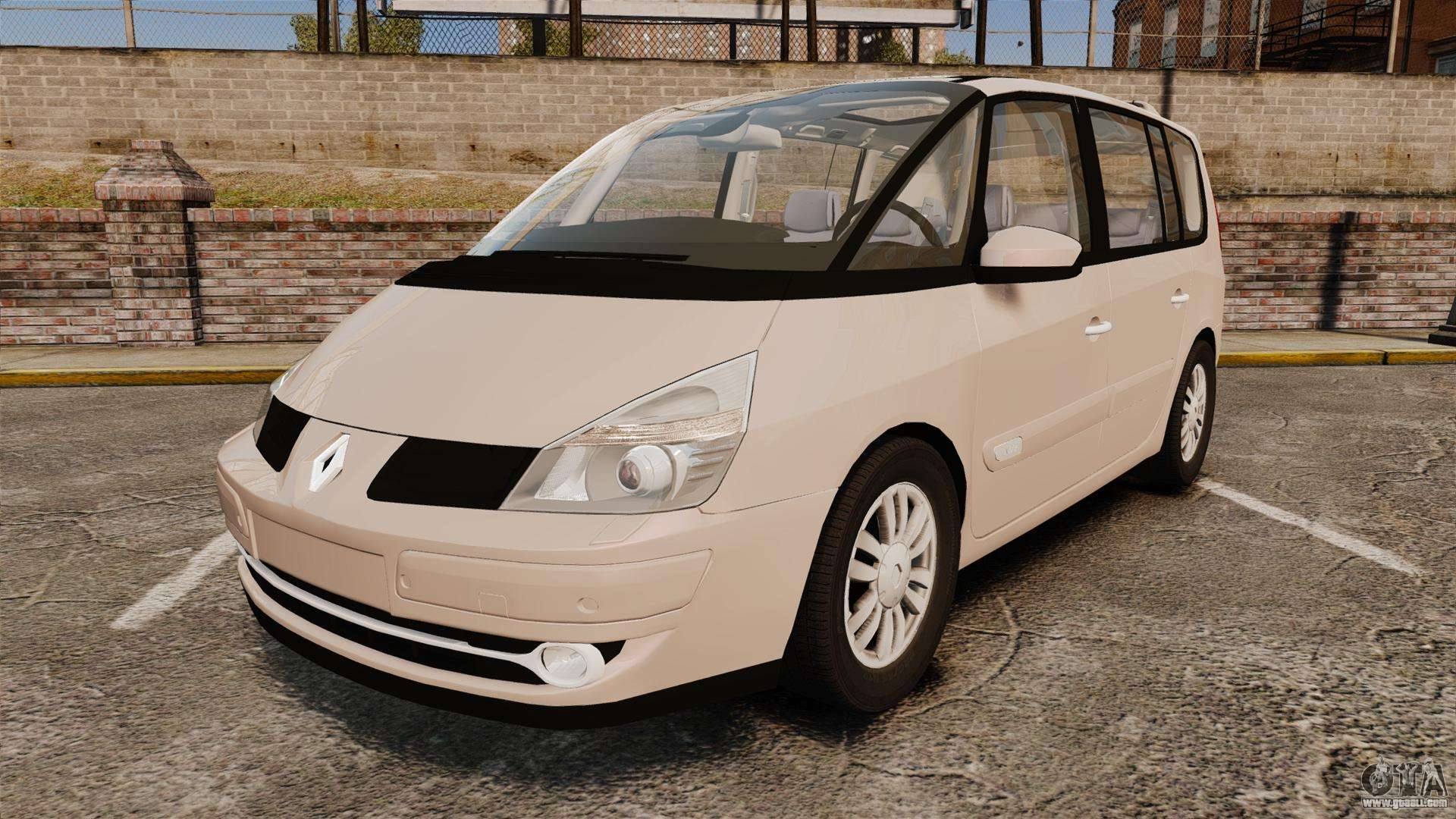 renault espace iv initiale v1 1 for gta 4. Black Bedroom Furniture Sets. Home Design Ideas