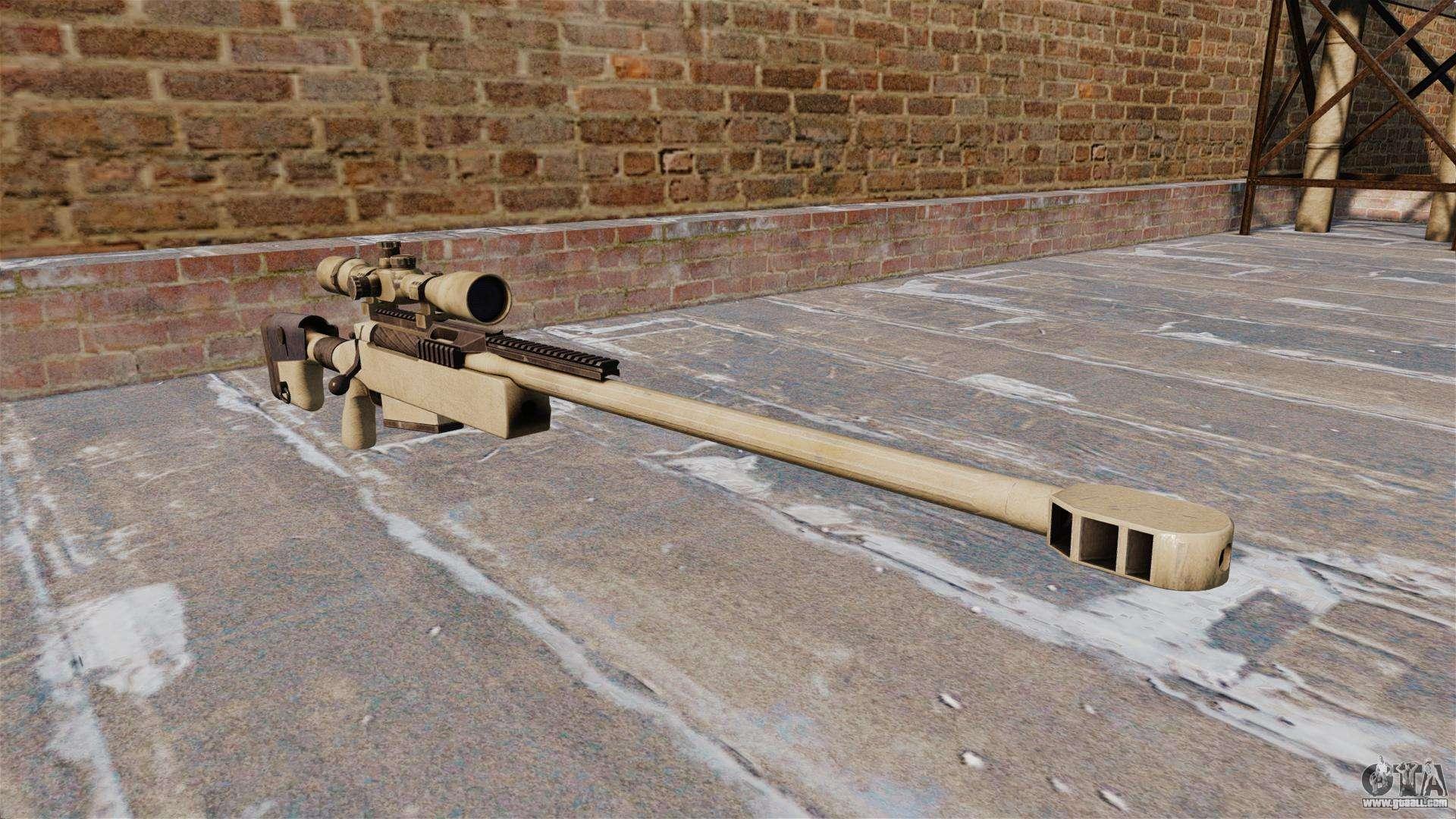 sniper rifle mcmillan tac50 for gta 4