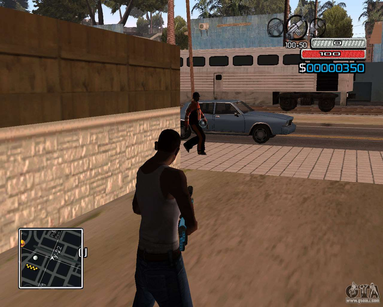 Hud by wh skyline for gta san andreas second screenshot