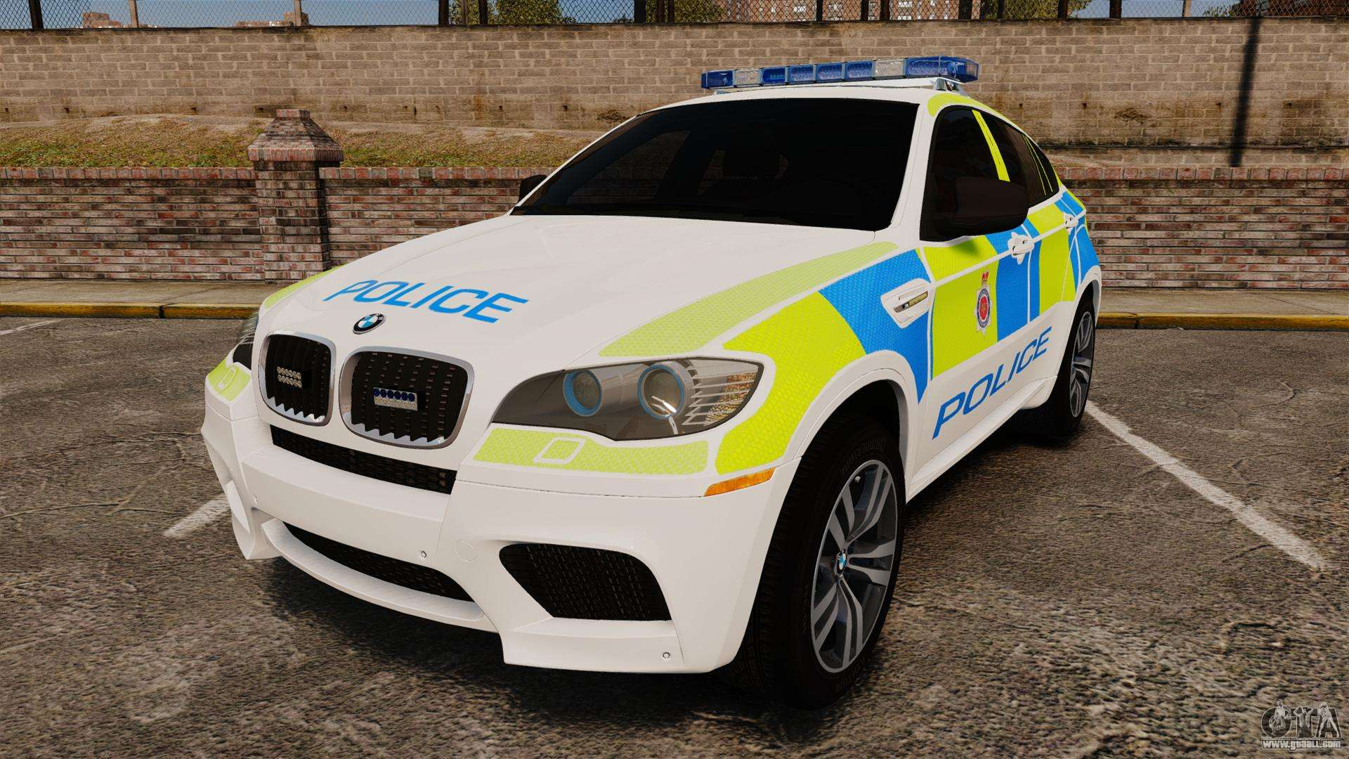 Bmw X6 Lancashire Police Els For Gta 4