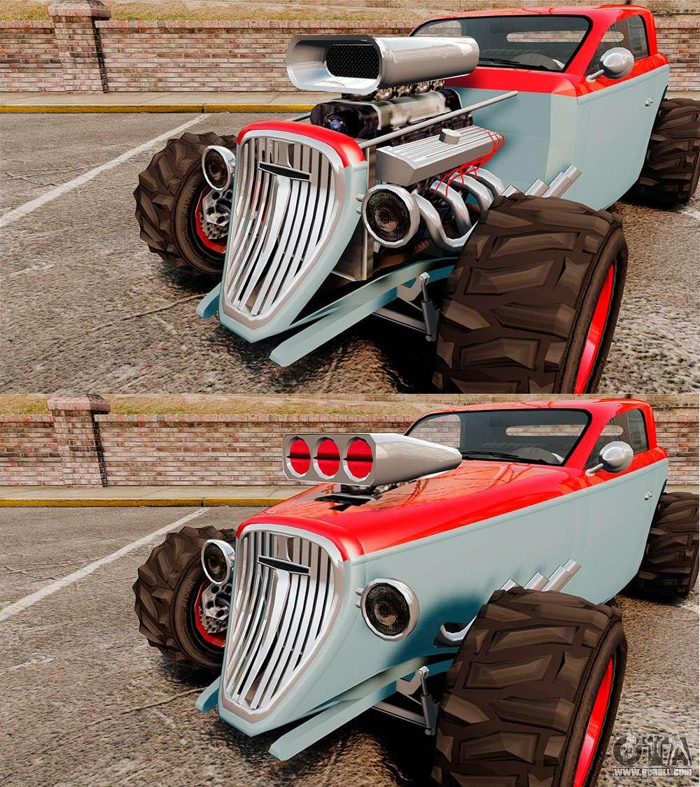 Gta 4 Vehicles Img For Backup Mod: GTA V Hotknife Custom For GTA 4