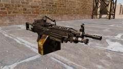Light machine gun M249 SAW