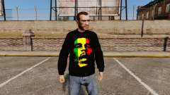 Sweater-Bob Marley- for GTA 4