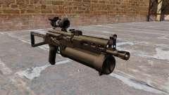 Submachine gun pp-19 Bizon