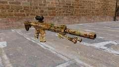 HK417 rifle