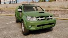 Toyota Hilux Land Forces France [ELS] for GTA 4
