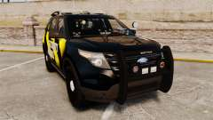 Ford Explorer 2013 Security Patrol [ELS] for GTA 4