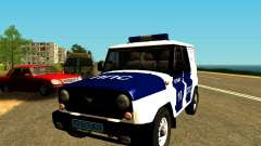 UAZ Hunter PPP for GTA San Andreas