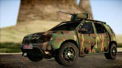 Dacia Duster Army Skin 2