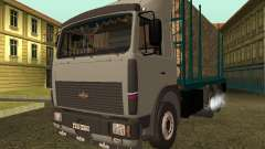 6430 MAZ timber carrier for GTA San Andreas