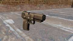Self-loading pistol FN Five-seveN MW3 for GTA 4