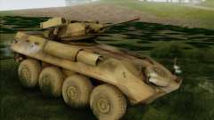 LAV-25 Forest camouflage