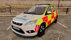 Ford Focus Estate 2009 Fire Car England [ELS] for GTA 4
