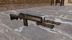 The M14 semi-automatic rifle