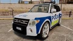 Mitsubishi Pajero Finnish Police [ELS]