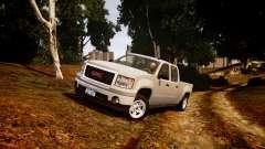 GMC Sierra 2500HD 2010 for GTA 4