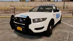 GTA V Vapid Police Interceptor LCPD [ELS] for GTA 4